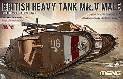 - Meng 1/35 British Heavy Tank Mk.V Male