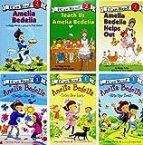 Amelia Bedelia Chalks One Up, Amelia Bedelia Tries Her Luck, Amelia Bedelia Hits the Train, Amelia Bedelia, Teach Us Amelia Bedelia, Amelia Bedelia Helps Out - 6 Book Set