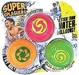 Splash Bombs Super Splashers Water Balls (3 Pack)- Color may vary