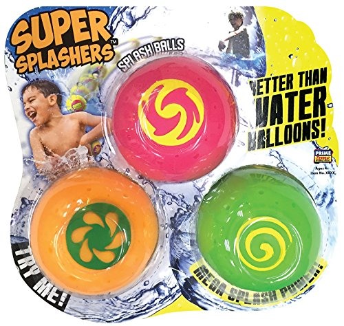 Splash Bombs Super Splashers Water Balls (3 Pack)- Color may -