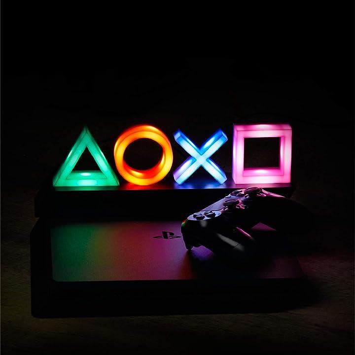 Lampada playstation icons, multicolore paladone pp4140ps