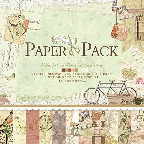 IDULL Scrapbook Paper Pack 12x12 Cardstock
