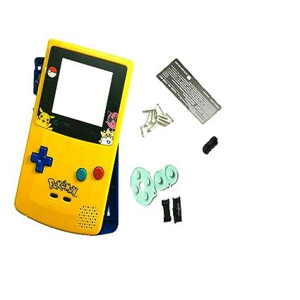 Hot Pour Gbc Game Boy Couleur Coque Plastique Pokémon Dessin