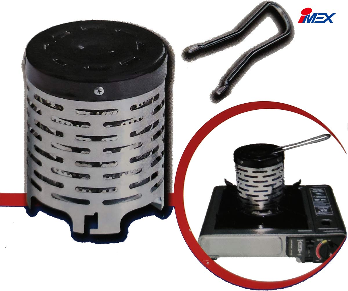 IMEX Heating attachment for gas cooker smart /& easy heater. convert camping stove to gas heater
