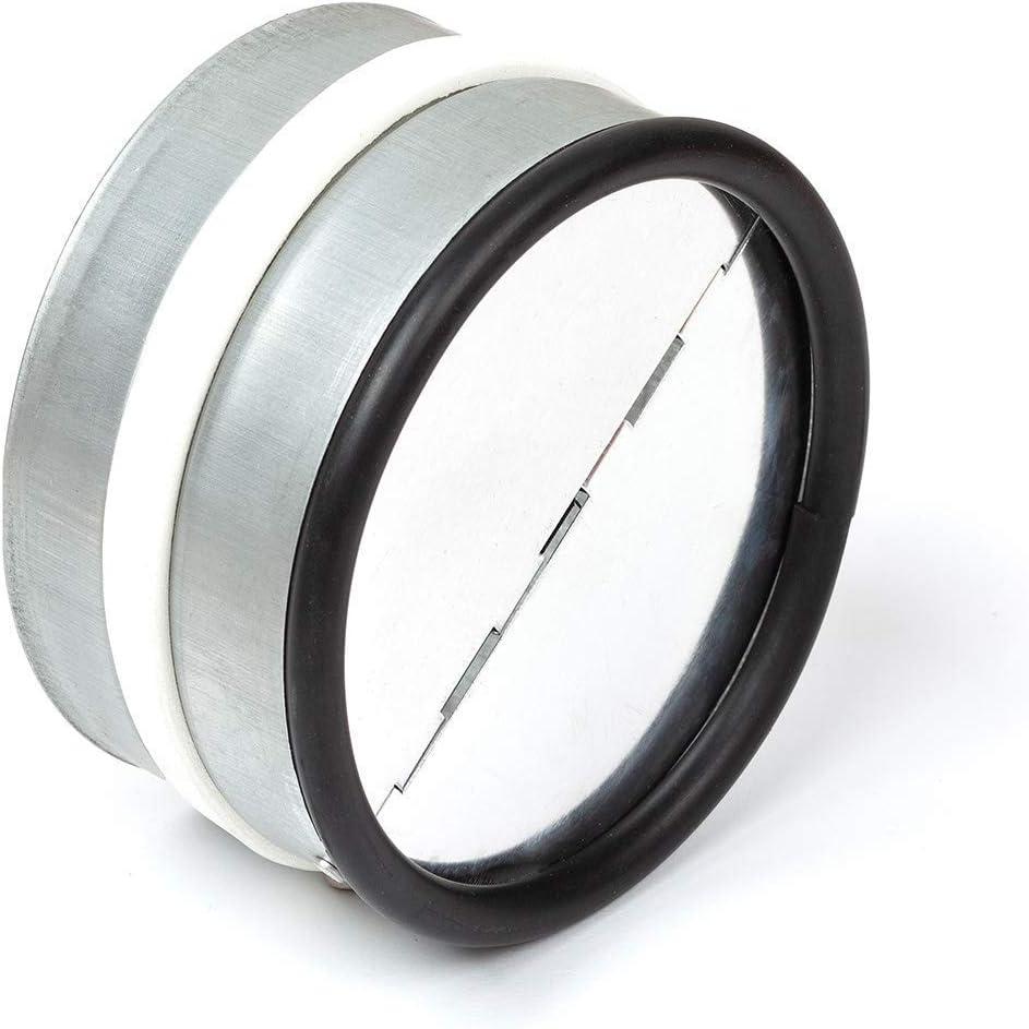 neverest RKI 100 mm Válvula Antirretorno Reduce el Ruido y Evita el Aire Frío por Tubo de Ventilación