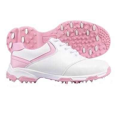 PGM , Damen Golfschuhe, Pink - weiß / rosa - Größe: 36