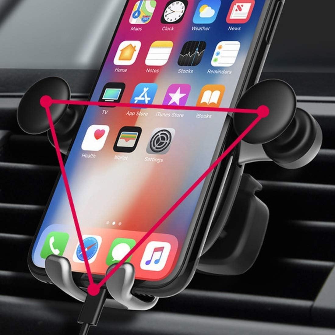 SHIZHESHOP Cute Cartoon Bear Pattern Car Phone Holder Air Outlet ...