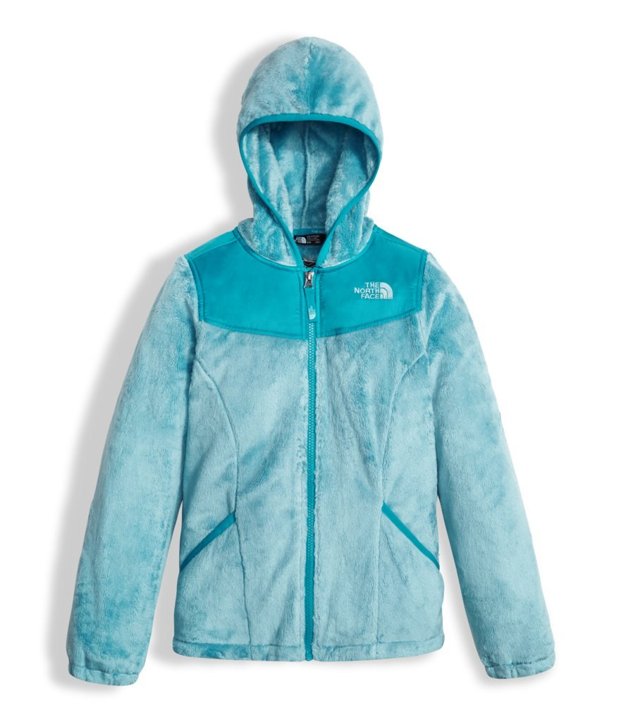 The North Face Girl's Oso Hoodie - Nimbus Blue - XL (Past Season)