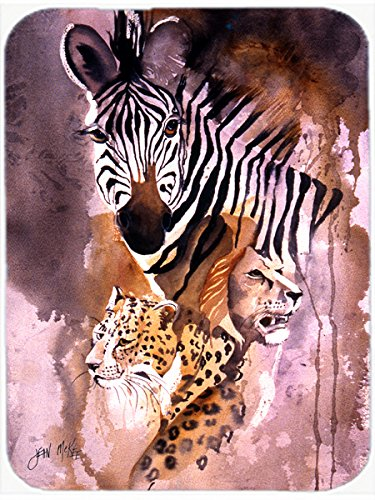 Caroline's Treasures Cheetah, Lion, Zebra Mouse Pad/Hot Pad/Trivet (JMK1194MP) ()