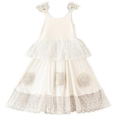 Amazon.com: 2Bunnies Girl Bohemian Vintage Lace Crochet Garden ...