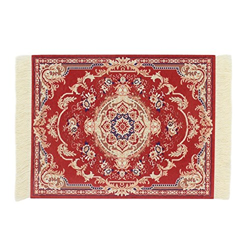 Rug Mouse Pads - Kotoyas Persian Style Carpet Mouse Pad, Several Images (Red Passion)