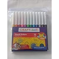 Craft and Arts Keçeli Kalem 12'li