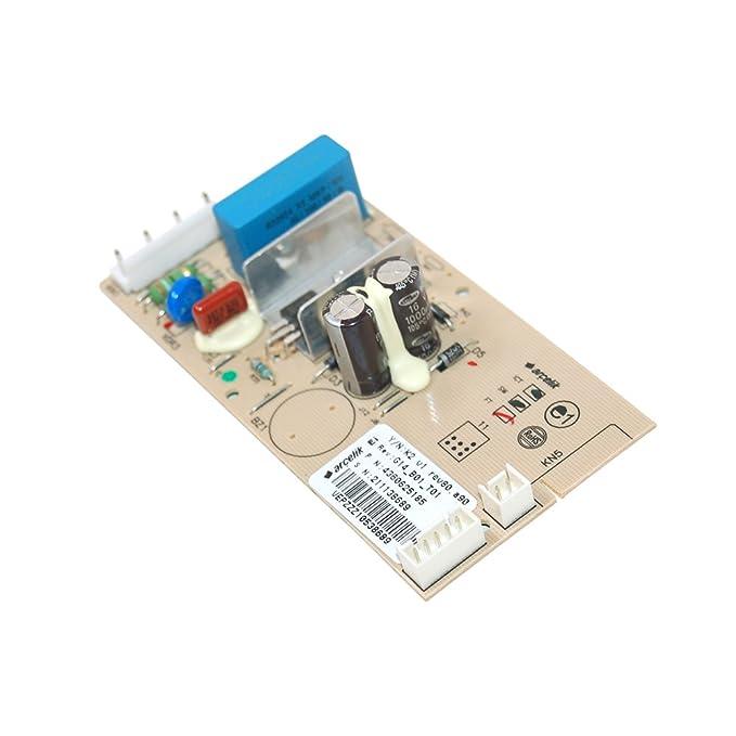 Beko 4360620185 Modulo Pcb Control Refrigeración: Amazon.es ...
