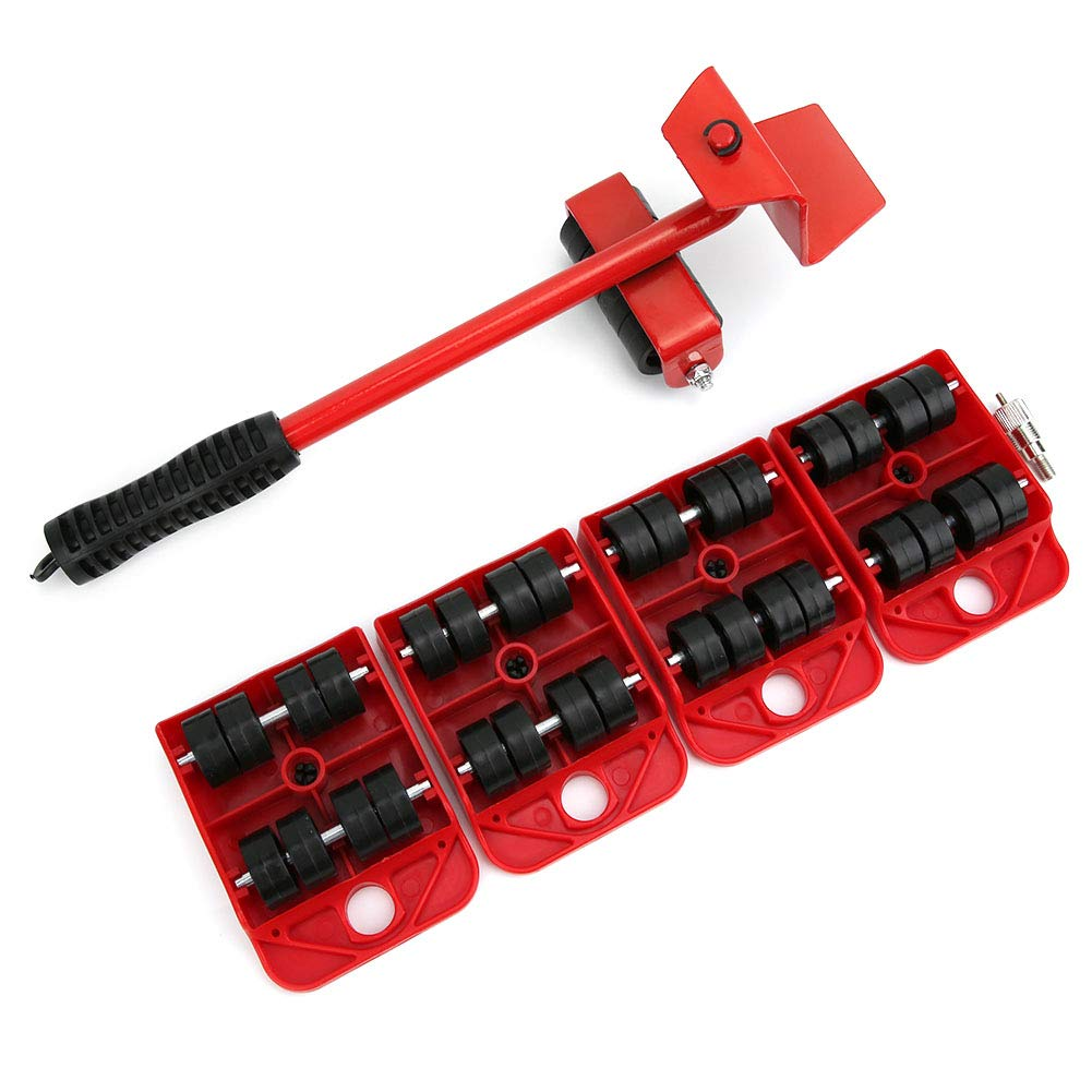 Heavy Furniture Lifter Transport Tools with 4 Pack Moving Sliders for Easy and Safe Moving Labor-Saving Moving Tool