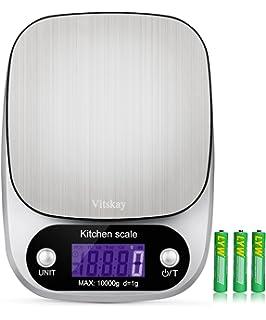 Vitskay Digital Kitchen Scale,Food Scale,Multifunction, 1g/0.002lbs to 22lbs
