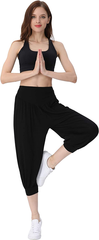 Amazon.com: Pantalones capri, de Hoerev, muy suaves, de ...