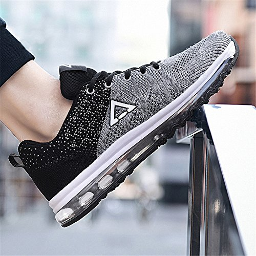 Basses Running Homme Sport Baskets De Sneakers Chaussures Gym Chaussure Outdoor Gris Fitness Course qxUUP6Sn