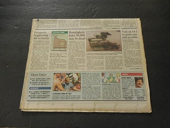Dallas Times Herald May 2 1991 Nolan Ryan Pitches 7th No