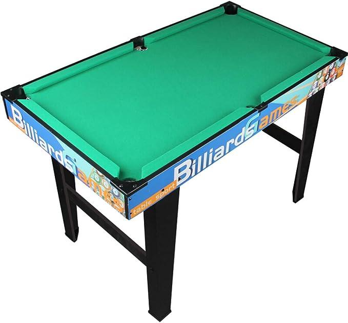 pool table MMM@ Mesa de Billar Billar Infantil Grande Juguetes Hogar Madera Americana Negro 8 Mesa de Billar Artículos Deportivos de Interior Bola de Piedra de Resina Resistente y Duradera: Amazon.es: Hogar