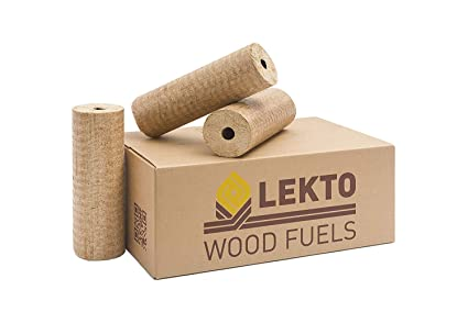 2b0ee8f81226 Lekto Hardwood Heat Logs