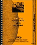 Kubota Tractor Operators Manual (KU-O-L245+)