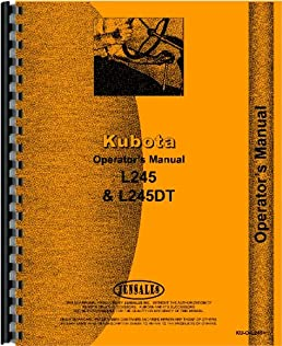 61jBgJjw4sL._SX258_BO1204203200_ kubota tractor operators manual (ku o l245 ) kubota 0739718105546