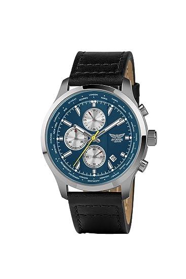Aviator avw6564g331 Vintage cronógrafo Reloj