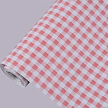 Amazon Com Yifely Red And White Checkered Peel Amp Stick