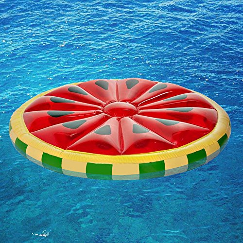 Fasmov Watermelon Slice Island Inflatable Raft 56