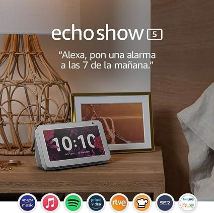 Todo para el streamer: Echo Show 5: mantén el contacto con la ayuda de Alexa, blanco