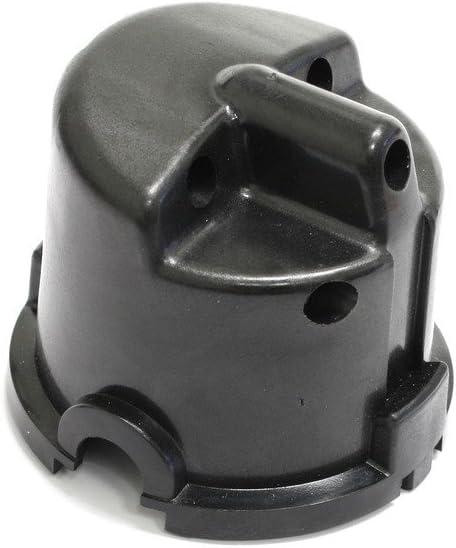 PerTronix Black Cap Side Exit for 4-Cylinder British 25D Cast Distributor D654606