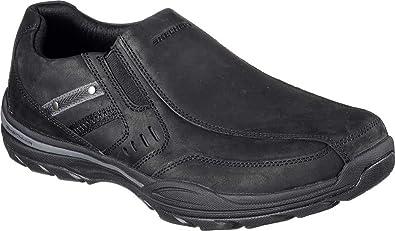 Skechers Men's Skech-Air Elment Brencen Slip-On,Black,US ...