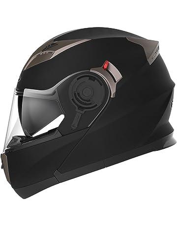5555cf16b8d64 YEMA Casco Moto Modular ECE Homologado YM-925 Casco de Moto Integral  Scooter para Mujer