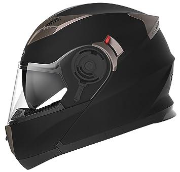 Amazonfr Yema Casque Moto Modulable Homme Ece Homologué Ym 925