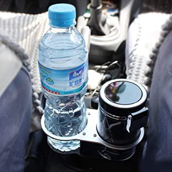 Double Wedge Bottle Drink Cup Holder For Universal Car Auto Vehicle Between Seat