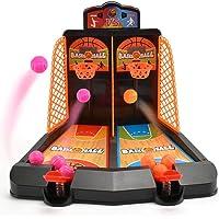 GreceMonday Juego de Tiro de Baloncesto Mini Pocket Baloncesto Palm Rompecabezas para ni/ños Juguetes de Escritorio Juguetes interactivos para Padres e Hijos