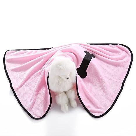 S-Lifeeling - Manta reversible de micropiel para perro, manta de forro polar,