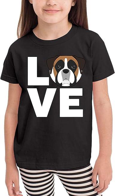 CERTONGCXTS Little Boys Baby Pupper Bulldog Cotton Short Sleeve T-Shirt Size 2-6