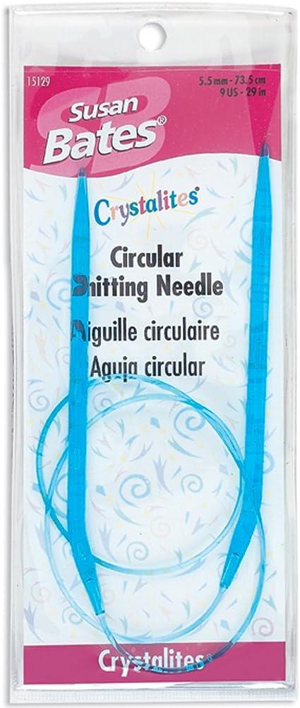 Susan Bates 29-Inch Silvalume Circular Knitting Needle 6mm