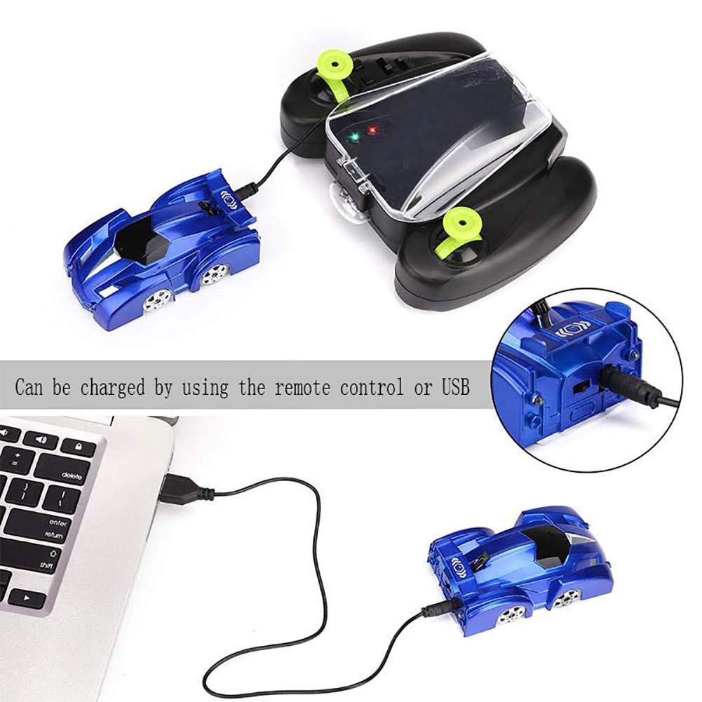 HOPQ RC Wall Climbing Car Remote Control Anti Gravity Ceiling Racing Car Electric Toys Machine Auto Gift For Children
