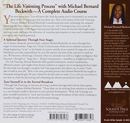 Life Visioning: A Four-Stage Evolutionary Journey to Live as Divine Love by Brand: Sounds True, Incorporated (Image #1)