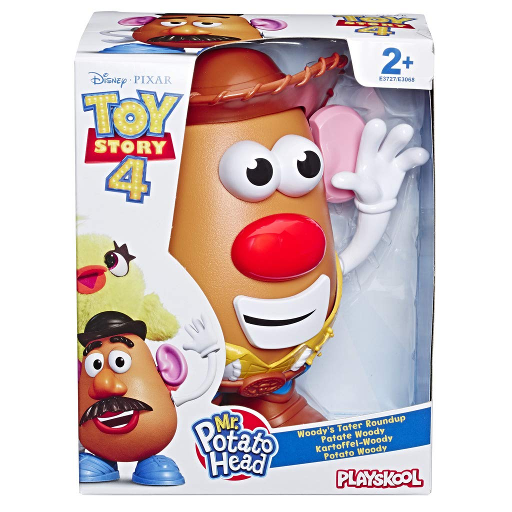 Mr Potato Head Disneypixar Toy Story 4 Woodys Tater Roundup Figure Toy For Kids Ages 2 And Up