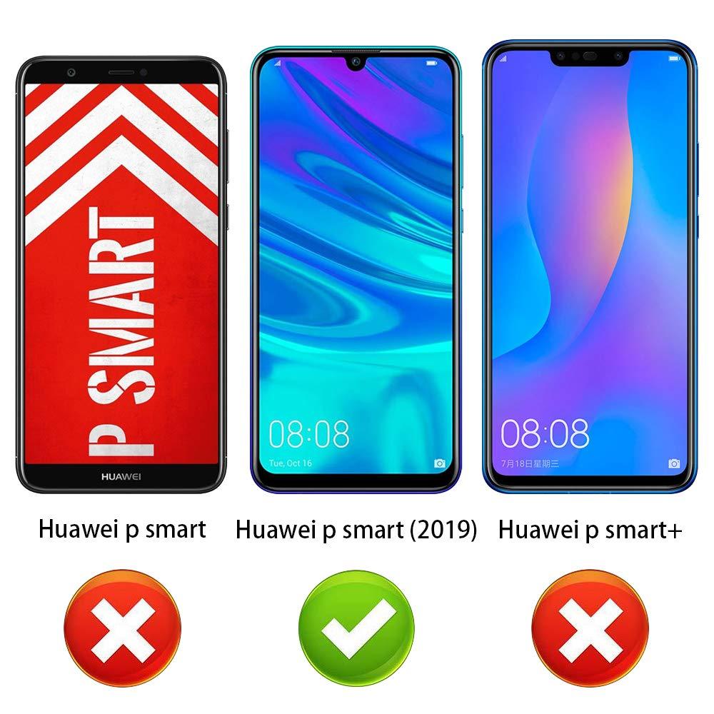 ANEWSIR [2 Pack] Protector de Pantalla para Huawei P Smart 2019 Cristal Vidrio Templado Premium 9H definición.: Amazon.es: Electrónica