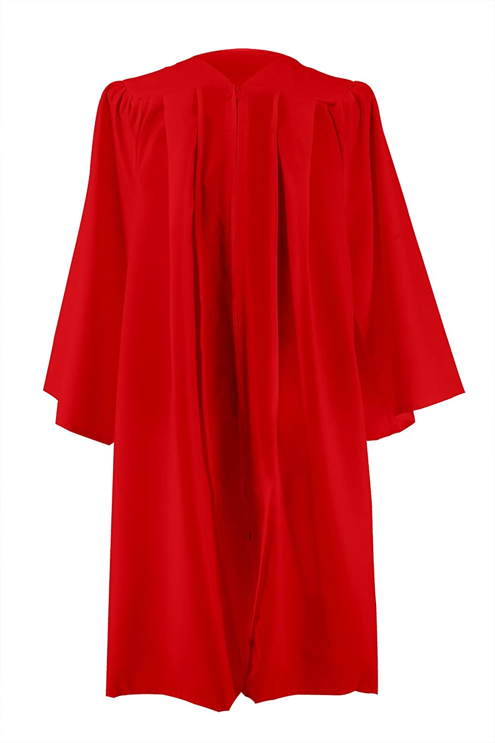 GGS Unisex Adults Matte Confirmation Robes Choir Robes Open Sleeves