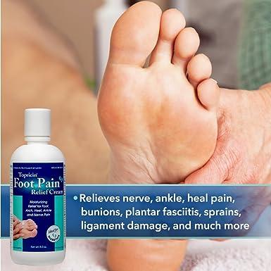 Topricin Foot - Crema para aliviar el dolor de pies (4 oz): Amazon.es: Industria, empresas y ciencia