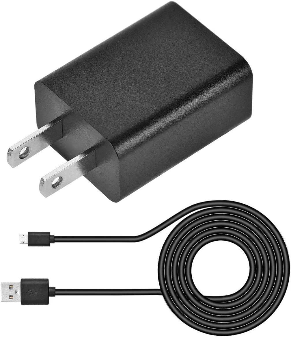 """UL Listed Kindle Fire Tablet Fast Charger,2A AC Adapter Rapid Charger with Micro-USB Cable Compatible for Tablet Hd, Hdx 6"""" 7"""" 8.9"""" 9.7"""" Tablets and Phones, Tab Power Supply Cord"""