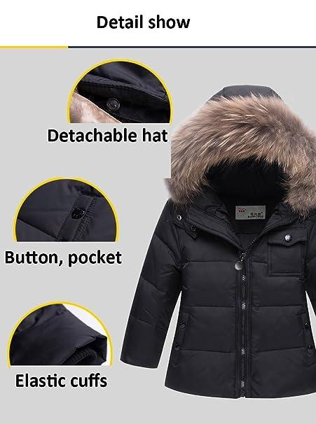d43b30e1b CADong Little Unisex Baby Two Piece Puffer Down Winter Warm Snowsuit ...