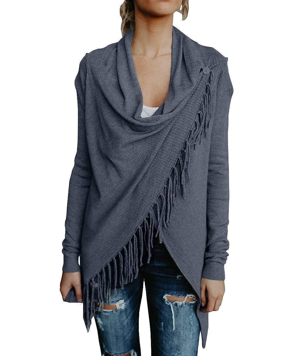 Women Winter Sweater Sexy Plus Size Warm Autumn Outwear Stripe Stitching Tassel Pullover Cashmere Shawl Female Tops Hot Sale New Cardigans