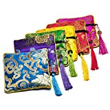 Gikfun Embroidered Jewelry Pouch Bag Coi