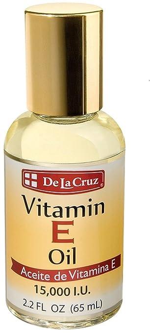 De La Cruz Vitamin E Oil 15,000 IU, No Preservatives, Artificial Colors or Fragrances